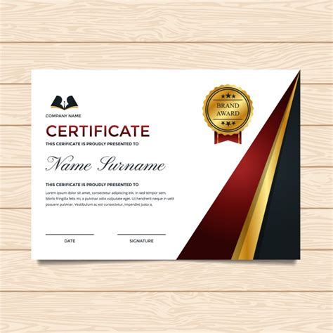 certificate design software free download luxury certificate template vector free download