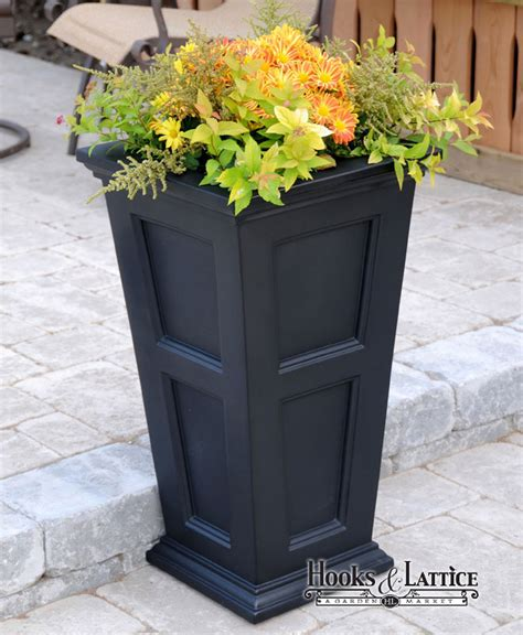 Dress Code Planters by Prestige 30in Planter Black