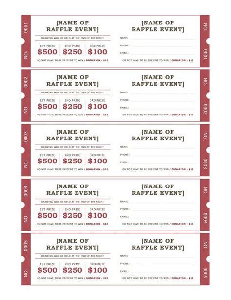 printable christmas raffle tickets raffle ticket format raffle tickets templates office
