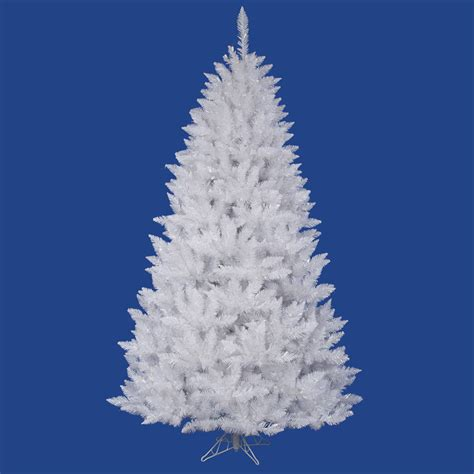 3 5 foot sparkle white spruce christmas tree unlit a104135