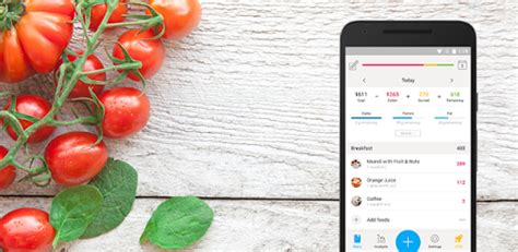 app calorie alimenti valori nutrizionali le migliori applicazioni per android