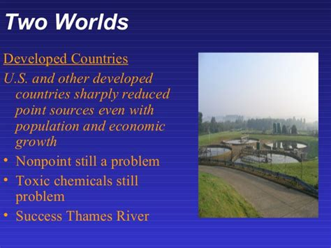 thames river chemical water pollution