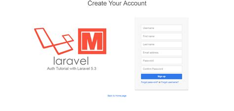 download tutorial laravel 5 a tutorial on laravel 5 3 user authentication with
