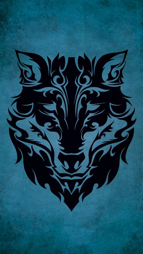 wallpaper tattoo tribal tribal wolf iphone 6 wallpaper 750x1334 me in 2019