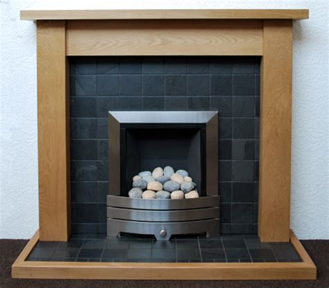 black tile fireplace black slate fireplace nottingham leicester uk