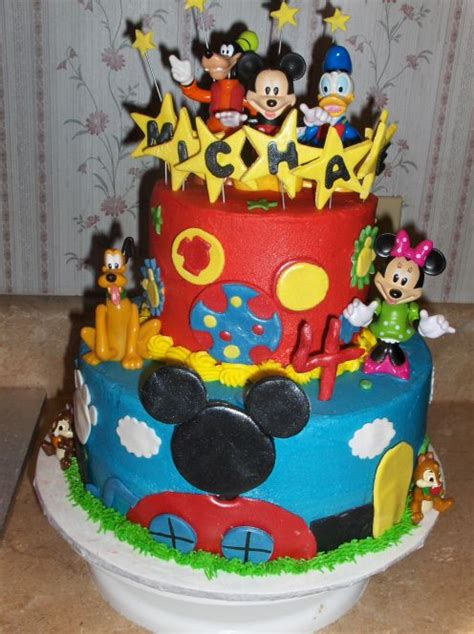 birthday  party cakes mickey mouse birthday cake ideas