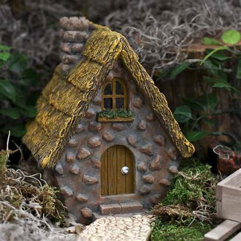 English Countryside Cottage Fairy Garden House What S New Dollhouse Miniatures