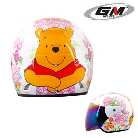 helm gm evolution the pooh seri 10 pabrikhelm jual helm murah