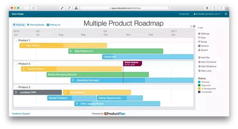 Diagrams Where Can I Find The Good Product Roadmap Templates Quora Lucidchart Roadmap Template
