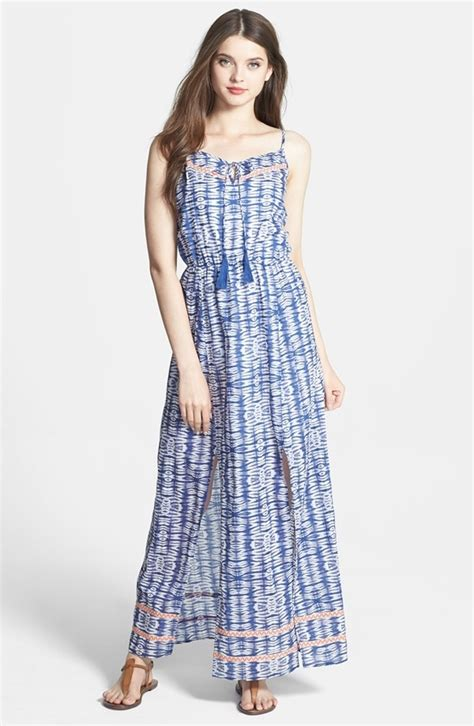 7 Gorgeous Maxis From Free by Tie Dye Cotton Maxi Dress 11 Gorgeous Maxi Dresses For