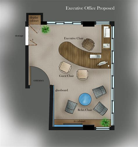 executive office floor plans 10th executive office by clarinita musa at coroflot com