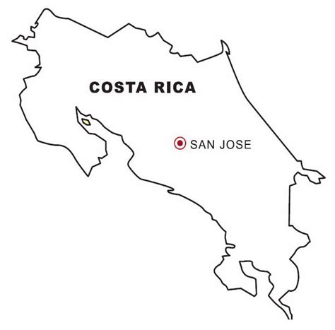 flag of costa rica coloring pages