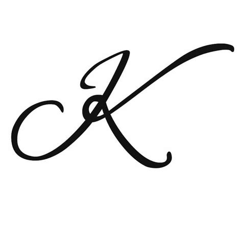k letter design tattoos 60 letter k designs ideas and templates
