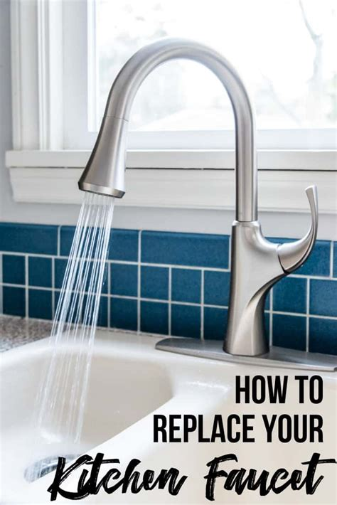 how to change a kitchen faucet and soap dispenser the
