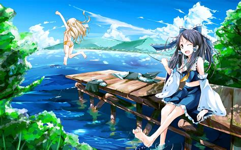 Anime Girl Summer Wallpaper | summer 2017 update