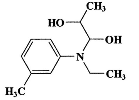 Ethyl M 1 ethyl m tolyl amino propane 1 2 diol