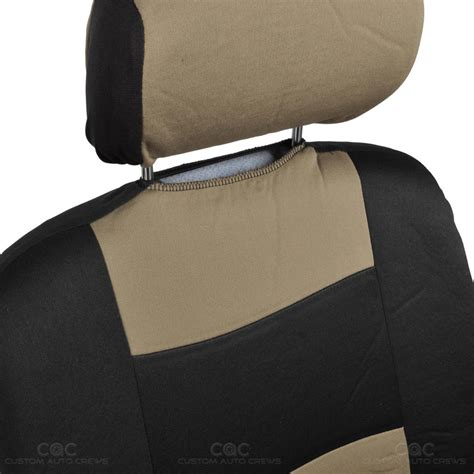 full bench seat covers beige car seat covers set full solid bench for auto suv w