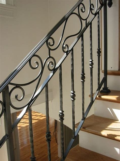 Fer Forge Stairs Design Rambarde Fer Forge Interieur Escalier Jpg 600 215 800 Stiegengel 228 Nder Pinterest