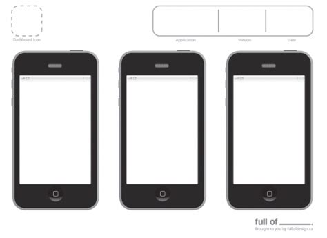 iphone app design template best photos of iphone a4 design templates printable
