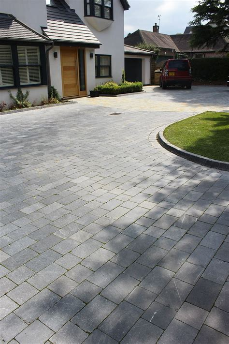 einfahrt pflastern ideen inexpensive driveway ideas home design idea