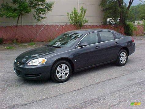 Slate Ls by 2008 Slate Metallic Chevrolet Impala Ls 9837663