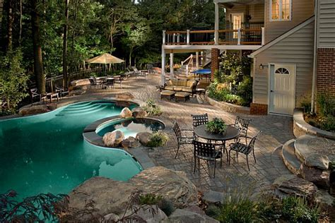 Backyard Pool Patio Backyard Retreat 11 Inspiring Backyard Design Ideas