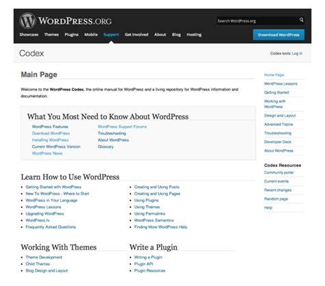 the power of wordpress codex abovecms