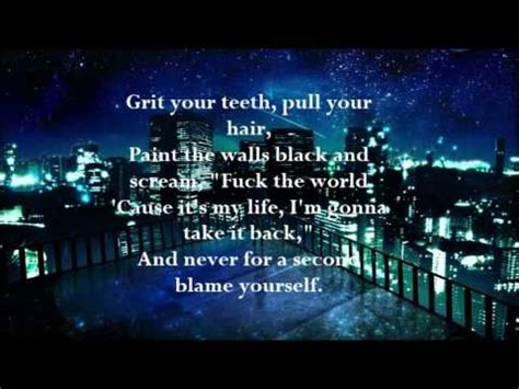 all time low lyrics missing you a z lyrics all time low missing you lyrics nightcore youtube