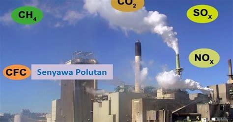 contoh senyawa polutan  mencemari udara geologinesia
