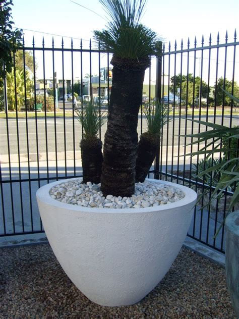 Large White Outdoor Pots Potanico Large Modern And Contemporary Pots