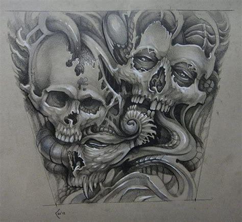a few new skulls by theskullguy on deviantart xenija s sketches promise to become amazing ratta tattooratta