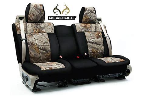camo neoprene seat covers ford f 150 coverking custom seat covers real tree ford f 150 f 250 f