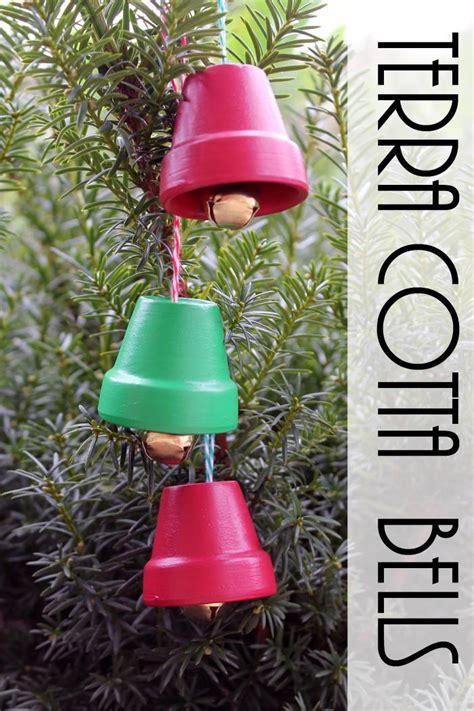 diy giant christmas bells terra cotta bells diy ornaments favecrafts
