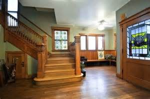 craftsman home interiors best 25 four square homes ideas on foursquare