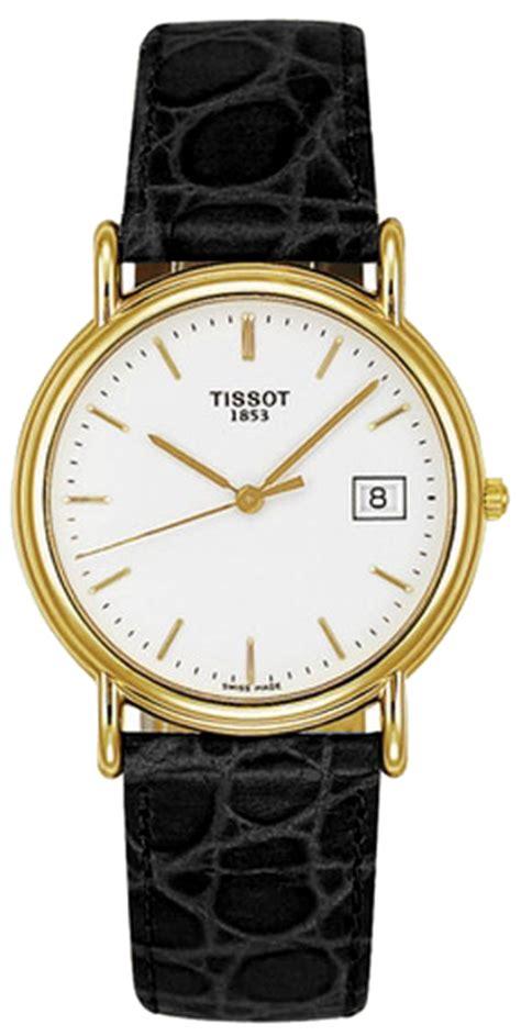 Tissot T0854102201100 Carson Quartz Silver Gold t71342911 tissot t gold carson mens solid gold quartz