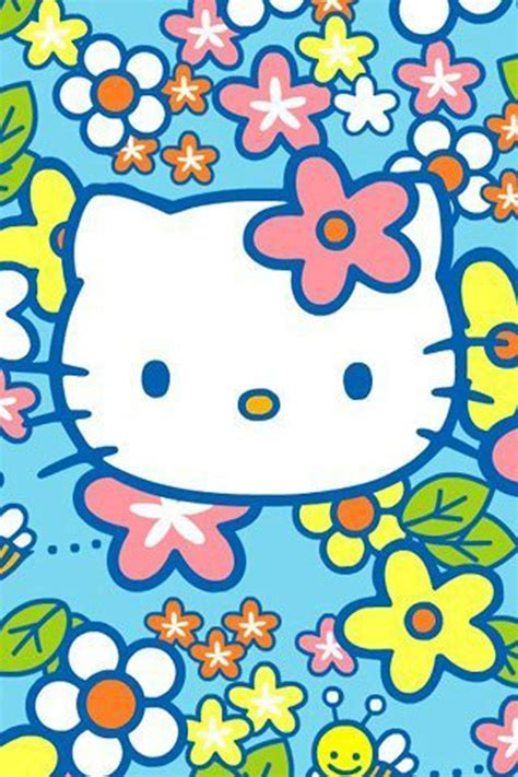 hello kitty wallpaper color blue hello kitty iphone wallpaper blue www imgkid com the