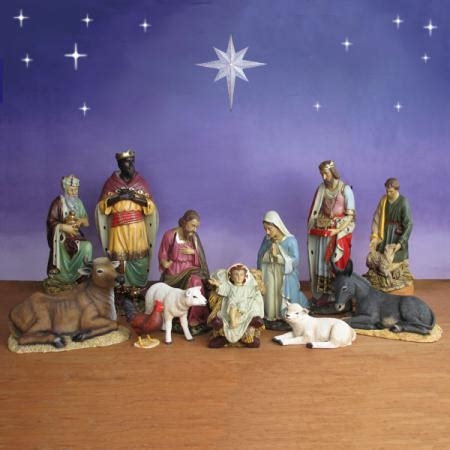 where to get life nativity set outdoor nativity sets set indoor lighted