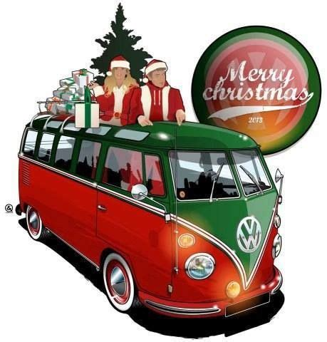 volkswagen christmas merry christmas vw van trucks vans pinterest merry