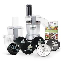Chef Accessories For Kitchen - veggie bullet electric spiralizer shredder slicer amp blender