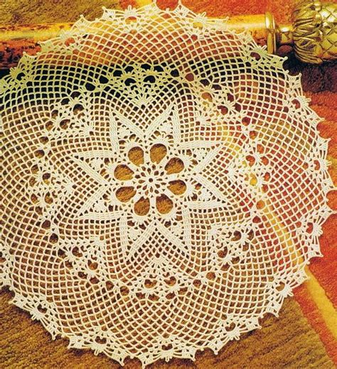 pattern crochet lace tablecloth crochet tablecloth pattern large lace dolly crochet