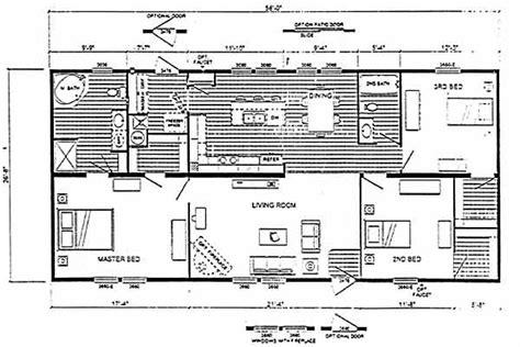 Cavalier Mobile Home Floor Plans by Cavalier 07 E5302s Floor Plan