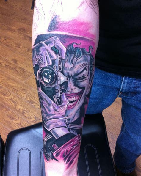 batman joker tattoo art chad miskimon certified artist