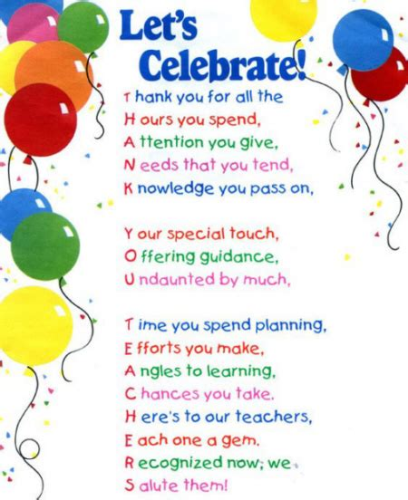 inspirational poems for teachers photograph best teacher p
