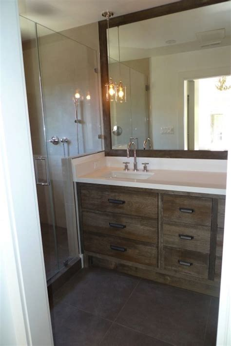 rustic modern bathroom vanity distressed bathroom vanity contemporary bathroom
