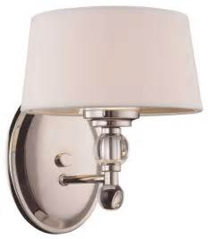Bathroom Vanity Wall Sconces Murren 1 Light Sconce Contemporary Wall Sconces By Fratantoni Lifestyles