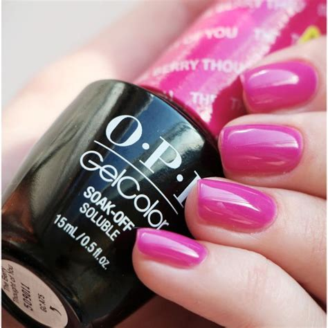opi gel nail colors opi gel the berry thought of you search opi gel