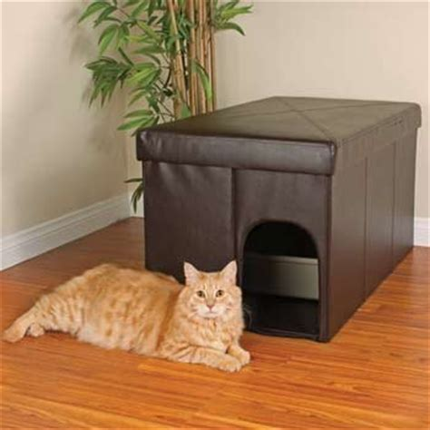 cat using bathroom outside litter box decorating your home with litter boxes offbeat home life
