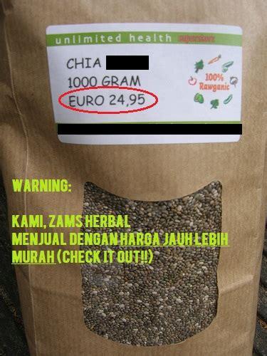 Chia Seed Eceran Harga Murah Agen Distributor harga chia seed terbaru dan termurah 2018 zams herbalist