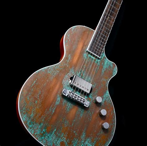 Handcrafted Guitar - 1000 ideas about custom guitars on bass