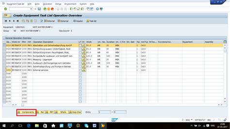 tutorial sap pm sap pm order planning tutorial free sap pm training